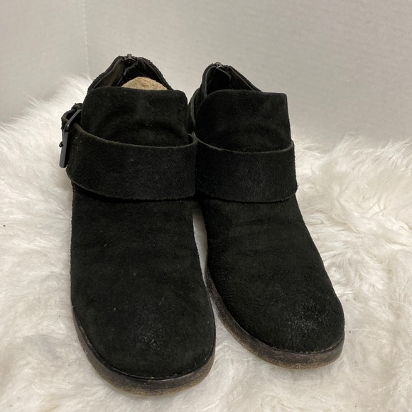 Marsell Suede Ankle Booties Buckle Detail EU 36-6